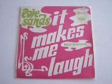 SP 2 TITRES 45 T , EVIE SANDS IT MAKES ME LAUGH . VG + . POCHETTE SANS VINYLE ,