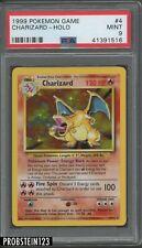 1999 Pokemon Game #4 Charizard - Holo PSA 9 MINT