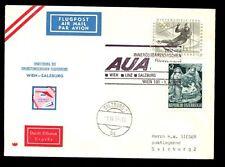 Austria 1964 First Flight Cover FFC, Wien - Salzburg #C4873