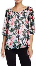 Vince Camuto Women's Jungle Lily Print Blouse $129 Size XS LD627