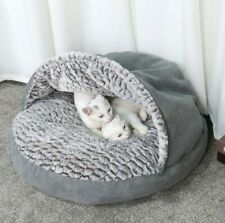 High Quality DOG or CAT Warm BED Grey Soft House