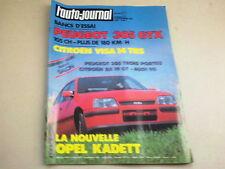 L AUTO JOURNAL - N° 16  - ANNEE  1984  *