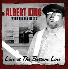 Albert King with Dickey Betts - Live At The Bottom Line (2017) CD NEW SPEEDYPOST