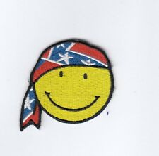 Smiley 45 mm *50 mm Amerika USA United Staates  Aufbügler,Aufnäher,Patch