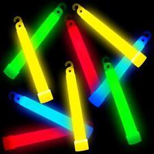 German Trendseller® 12x Knicklicht Glow Stick Leuchstab mit Öse und Band