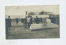 1913 Dt. Reich Fotokarte Sanke Nr. 220 Pegoud an seinem Flugzeug