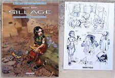 Sillage 5 EO 2002 + ex-libris n & s Parfait état Buchet Morvan