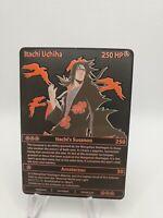 "Akatsuki Itachi Uchiha Custom Metal Card Pokemom Style ""Naruto Show"""