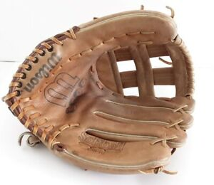 """Wilson Boss A9840 Leather 11.5"""" Softball Glove Right Hand Throw Hold Tite Strap"""