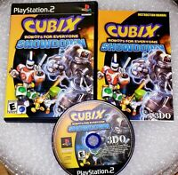 Cubix: Robots for Everyone -- Showdown (Sony PlayStation 2, 2003) ps2 Complete