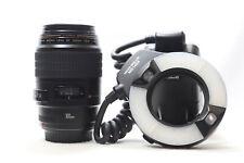 Canon 100mm F2.8 Macro Lens MR-14EX Macro Ring Lite Kit -BB 468-