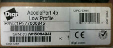 New Digi 50000839-03-Open Box AccelePort 4p Low Profile Open Retail Box
