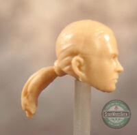 """MH200 Custom Cast Male head for use with 3.75/"""" GI Joe Star Wars Marvel figures"""