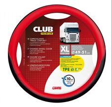 Lampa Club Premium Lenkradschutz schwarz-rot 49/51 cm