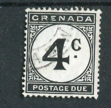 Grenada 1952 4c black postage due SG.D16 fine used