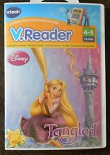 V.Reader DISNEY TANGLED Rapunzel Princesses Reading Learning Game Vtech