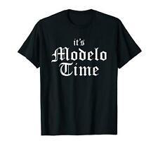 It's Modelo Time Black T-shirt