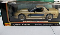 Maisto 1/18 - Chevrolet Corvette 2003 - Guldstrand Signature Edition