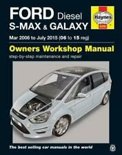 Ford S Max & Galaxy Diesel Owners Workshop Manual: 2006-2015 by Anon, NEW Book,