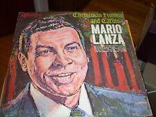 MARIO LANZA CHRISTMAS HYMNS AND CAROLS RCA CAMDEN LP VG+-MONO