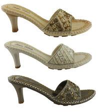 Slip On Slim Heel Formal Sandals & Flip Flops for Women