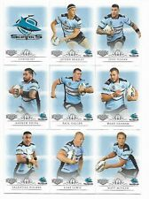 2018 NRL Elite SHARKS Full 10 Card Team Set - Ava SEUMANUFAGAI Box Card