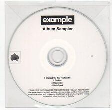 (FC20) Example, 4 track album sampler - DJ CD