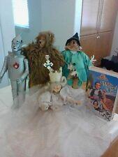 Wizard of Oz Tin Man,Cowardly Lion Scarecrow,Glenda the Good Witch VHS Tap