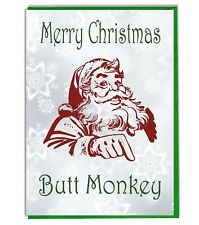 Funny Rude Banter Joke Adult Christmas Card - Husband Boyfriend Brother Mate 10