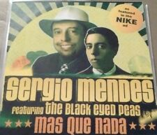 Sergio Mendes & The Black Eyed Peas 'Mas Que Nada' Promo CDr Single (2006)