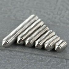 50Pcs Metric M3 Srews 4/6/8/10/12/16mm Bolt Screw SST Stainless Steel Concave
