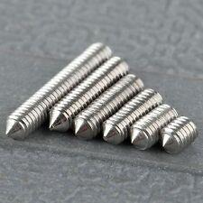 50Pcs Metric M3 Srews 4/6/8/10/12/16mm Bolt Screw SST Stainless Steel Concave