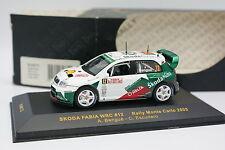 Ixo 1/43 - Skoda Fabia WRC Rallye Montar Carlo 2005