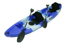 Brand New Family Double Tandem Kayak, 2.5 Seater Family Kayak - Blue And White