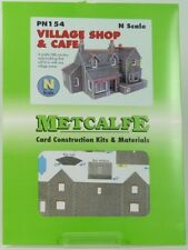 METCALFE CARD KIT N PN154 VILLAGE SHOP AND CAFE METPN154