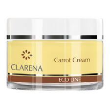Clarena Eco Line Regenerating Carrot Cream For Sensitive Skin 50ml