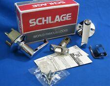 SCHLAGE - Polished Chrome - Bath / Bedroom Privacy Door Lever Set - F40N LEV 625
