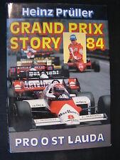 Peter's Book Grand Prix Story 84 Pro(o)st Lauda Heinz Prüller (Nederlands)