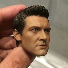 █ Custom Jeremy Renner 3.0 1/6 Head Sculpt for Hot Toys Hawkeye Muscular Body █