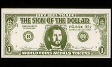 USA, (ND) Souvenir Paper Money, uniface, UNC, Nice!
