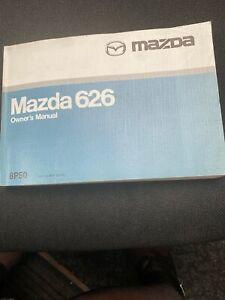 MAZDA 626 HANDBOOK OWNERS MANUAL 1997-2002 HANDBOOK GUIDE .