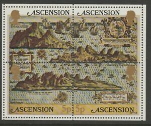 Ascension MINT 1981 Early maps of Ascension sheet MS301 MNH