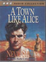 Nevil Shute A Town Like Alice 2 Cassette Audio Book BBC Radio 2 Drama FASTPOST