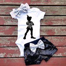 3PCS Newborn Baby Boys Girls Outfits Clothes Romper Jumpsuit Bodysuit+Pants Sets