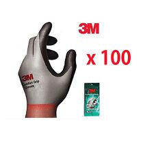 100 Pairs 3M Comfort Grip Gloves Electrical and Maintenance Gardening Work Glove