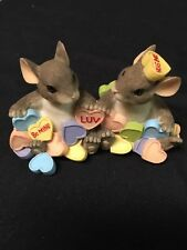 "Charming Tails Candy Hearts "" You're My Sweetheart"" Fitz and Floyd 84/116"
