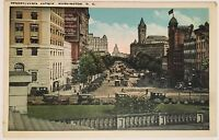 Pennsylvania Ave Washington DC Postcard