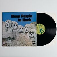 DEEP PURPLE IN ROCK GATEFOLD VINYL LP EMI HARVEST UK 1971 RELEASE