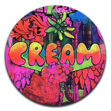 Cream Band Psychedelic Rock Clapton 25mm / 1 Inch D Pin Button Badge