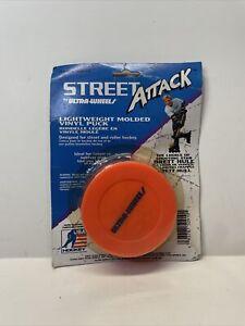 BRAND NEW Brett Hull Street Attack Ultra Wheels Vinyl In-Line Roller Hockey Puck